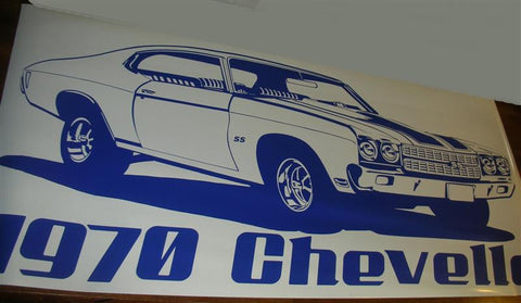 1970-chevy-chevelle-racing-car-auto-truck-vinyl-wall-decal-sticker