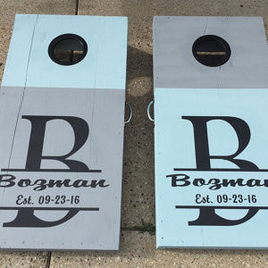 family-name-established-date-wedding-cornhole-board-decals-stickers-graphics
