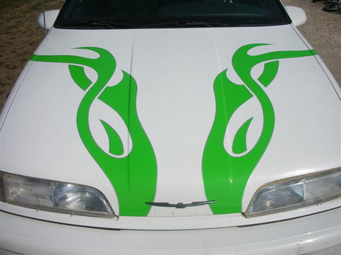 hood-tribal-flames-car-auto-boat-stickers-decals-graphics