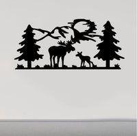 RV Camper Decals Moose Moon 5th Wheel Motor Home Replacement Decal Sticker