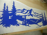 Replacement Decals Deer Bucks Hunting Mountains Quality Motor Home RV Camper Trailer Hauler Sticekes Graphics