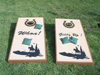 State Spartans Mascot Sports Team Cornhole Board Decals Stickers Enough Both Boards