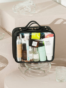 CALPAK transparent cosmetic travel bag