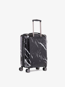CALPAK Astyll black marble hard side spinner carry on suitcase