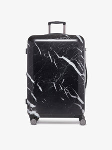 CALPAK Astyll large 29 inch black marble hard shell luggage