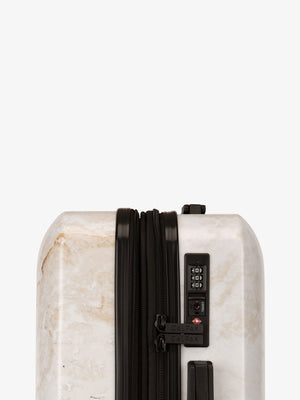 Gold Marble Large Luggage