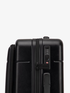 Hue carry on with laptop compartment-black-TSA locks