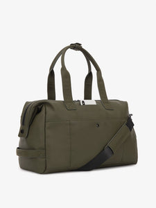 green moss CALPAK Hue duffel bag with crossbody strap