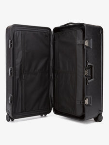 CALPAK Jen Atkin premium 31 inch black trunk luggage with compression panel