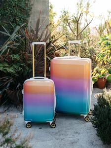 stylish 2 piece hardside suitcase set from CALPAK oh Joy! luggage collection
