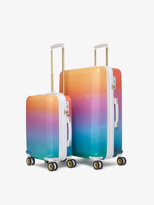 CALPAK Oh Joy!: cute colorful 2 piece hardside luggage set with carry on