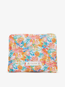 CALPAK water resistant floral print pouch from Oh Joy! packing cubes collection