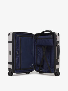 CALPAK TRNK grey 25 inch medium size luggage with compression straps