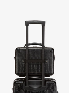 CALPAK TRNK black travel vanity case with carry on