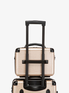 CALPAK TRNK nude travel vanity case with carry on