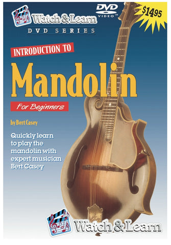 Watch & Learn Intro to Mandolin DVD