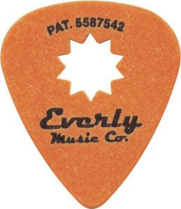 Everly Music Star Guitar Picks Orang/.60mm