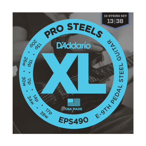 D'Addario EPS490 Pedal Steel Strings E-9th