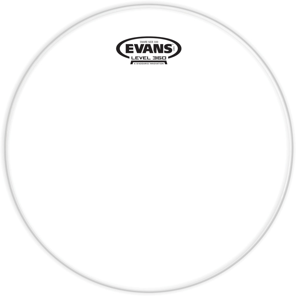 "Evans Snare Side Drum Head - 14"" - Clear"