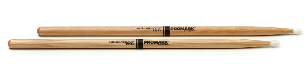 ProMark TX5AN 5A Nylon Tip Hickory Drumsticks