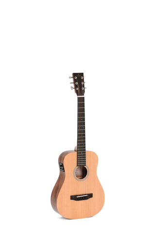AMI TM-12E Travel Size Acoustic Electric Guitar W/Padded Gig Bag