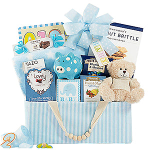 Celebrate New Life (Boy) -USA Gift Delivery