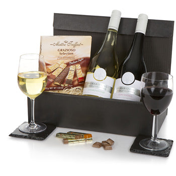 Duo Wine & Chocolates -UK Gift Delivery