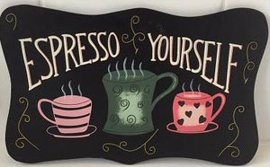 Espresso Yourself (with design) - SALE