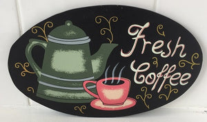 Fresh Coffee (with design)