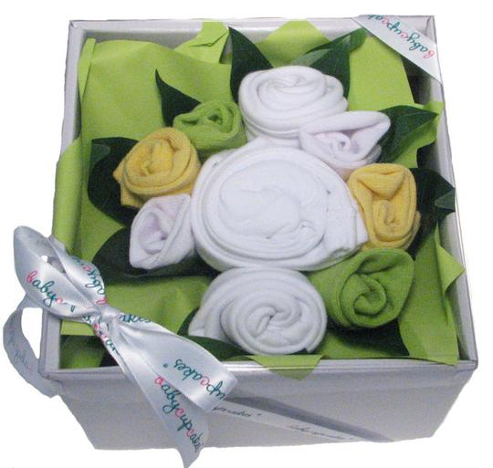 Boxed Baby Bouquet (Green)