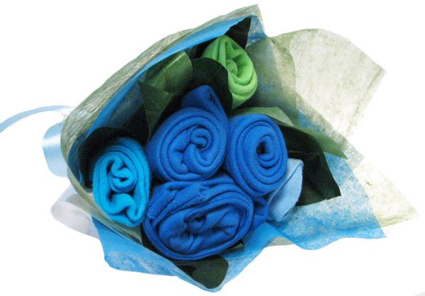 Essential Baby Bouquet (Powder Blue)