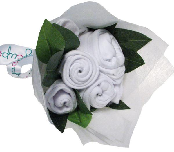 Essential Baby Bouquet (Bright White)