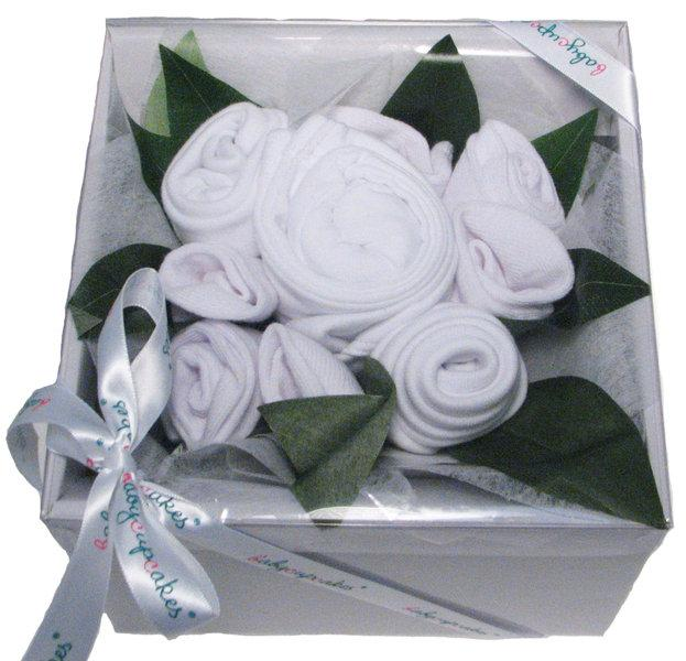 Boxed Baby Bouquet (White)