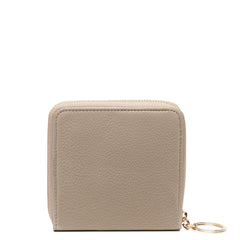 Half Zip Around Wallet - Taupe - OAD NEW YORK - 1