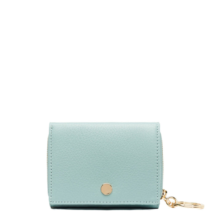 Mini Zip Around Wallet - Misty Green - OAD NEW YORK - 1