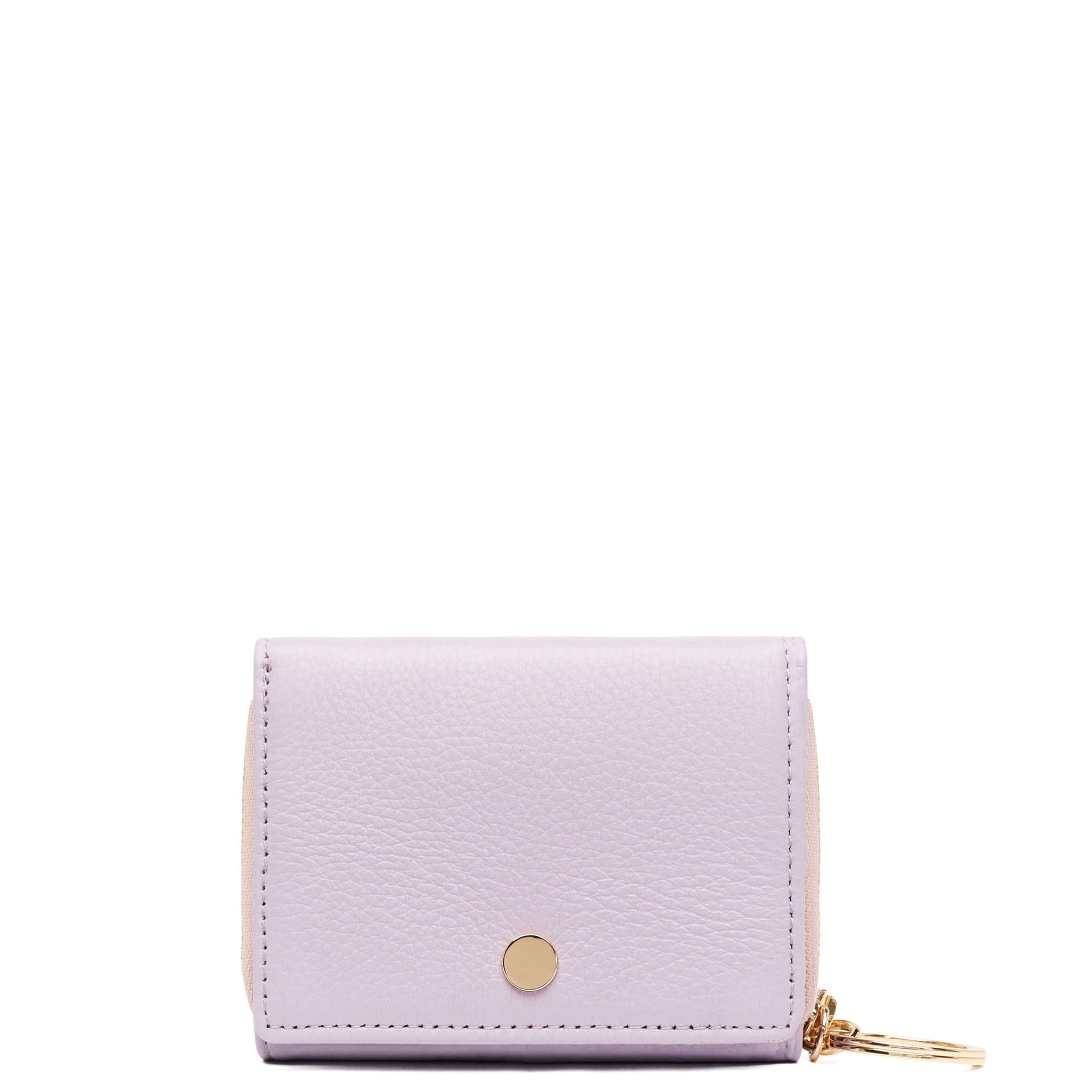 Mini Zip Around Wallet - Sweet Lilac - OAD NEW YORK - 1