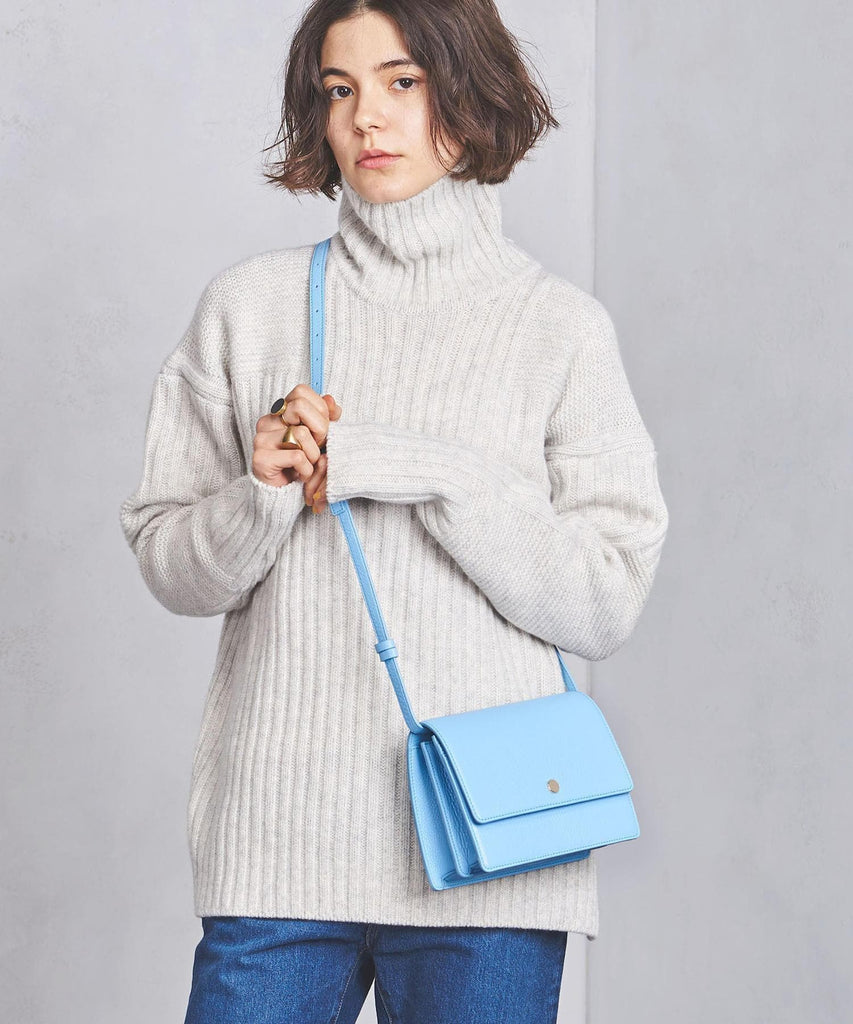 Mini Messenger Courier - Baby Blue - OAD NEW YORK