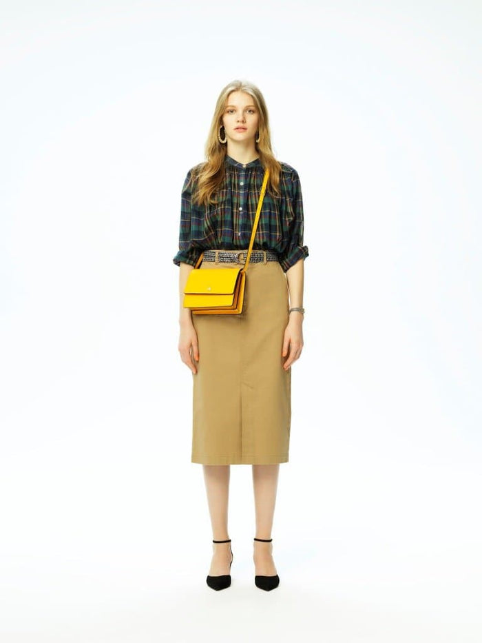Mini Messenger Courier - Sun Yellow - OAD NEW YORK