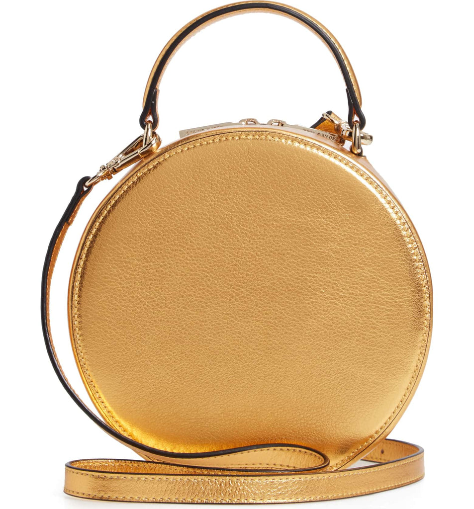 Mini Circle Satchel - Honey Gold - OAD NEW YORK