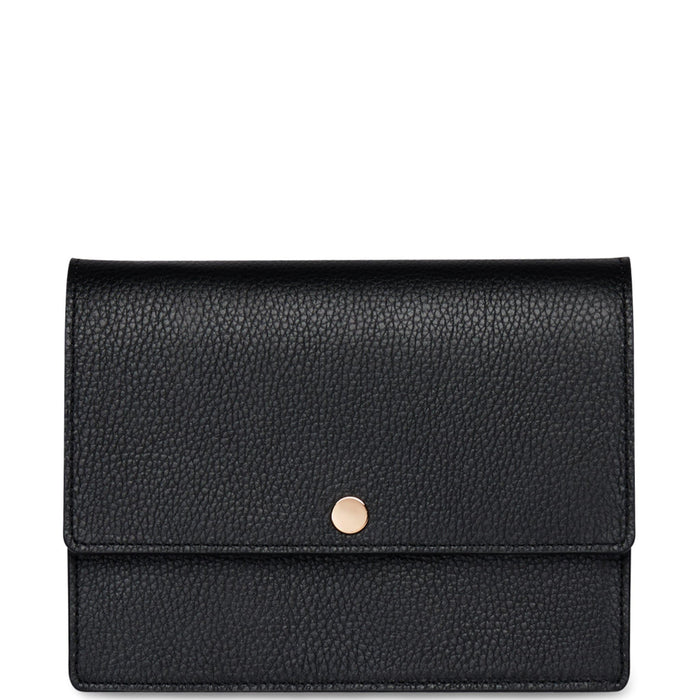 Mini Messenger Courier - True Black - OAD NEW YORK