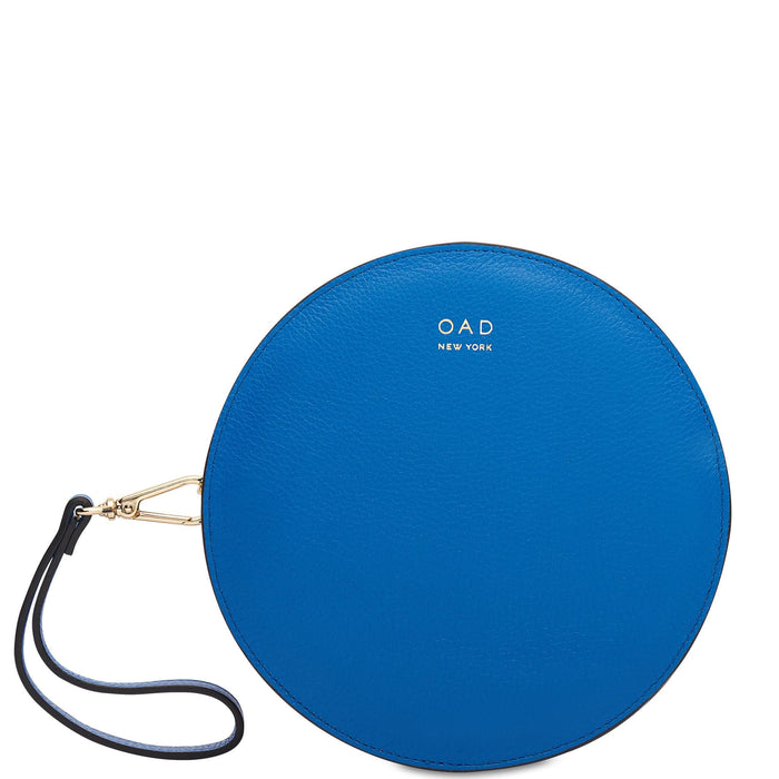 Circle Crossbody Wristlet - Sea Blue - OAD NEW YORK
