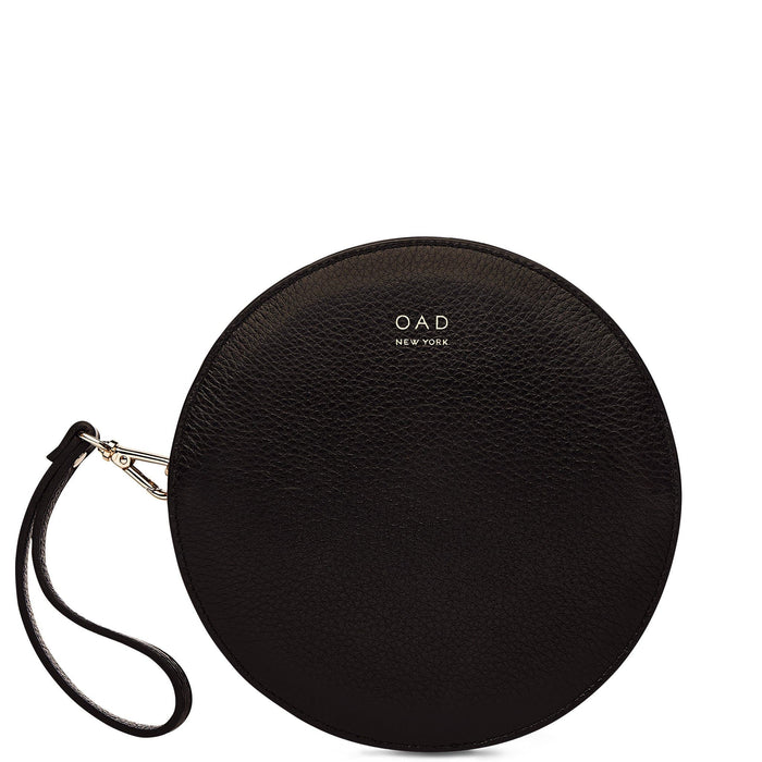 Circle Crossbody Wristlet - True Black - OAD NEW YORK