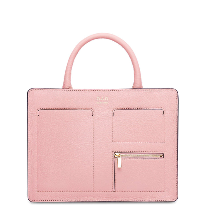Kit Zip Satchel - Rose Pink - OAD NEW YORK