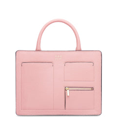 Kit Zip Satchel - Rose Pink