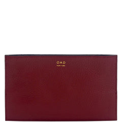Line Pochette - Dark Wine + Navy Blue - OAD NEW YORK