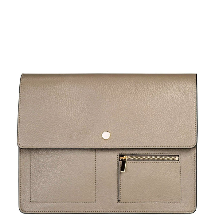 Messenger Courier - Taupe - OAD NEW YORK