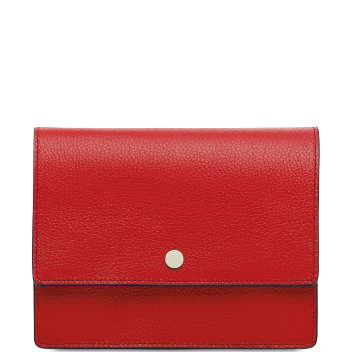 Mini Messenger Courier - Classic Red - OAD NEW YORK
