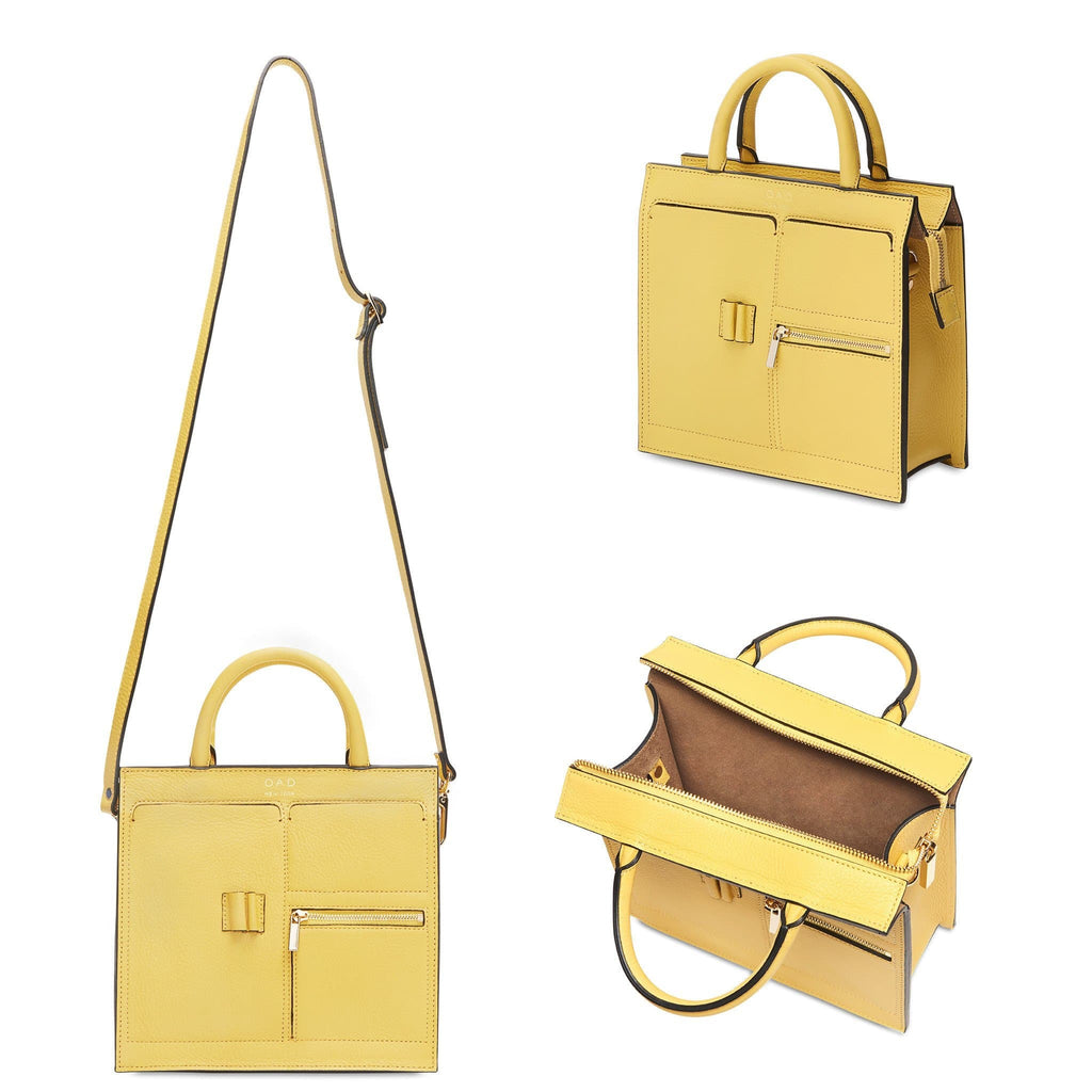 Mini Kit Zip Satchel - Amber Orange (s) - OAD NEW YORK