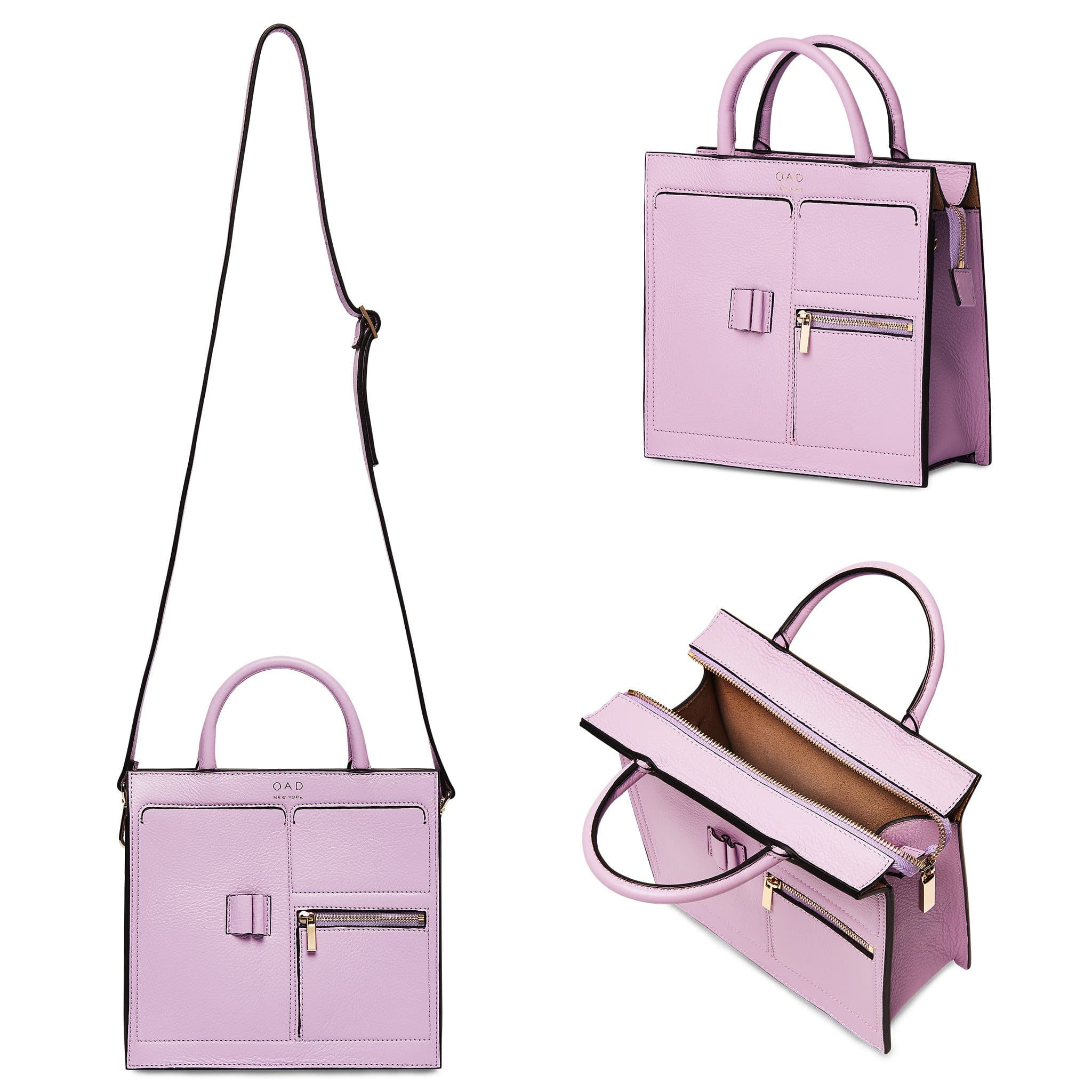Mini Kit Zip Satchel - Sweet Lilac - OAD NEW YORK