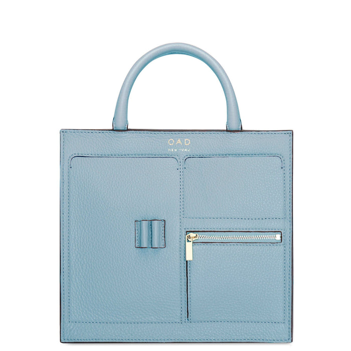 Mini Kit Zip Satchel - Powder Blue - OAD NEW YORK